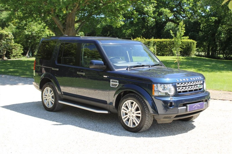 used Land Rover Discovery 4 SDV6 HSE in surrey