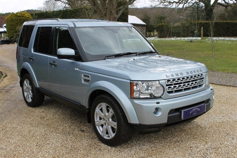 used Land Rover Discovery 4 SDV6 XS in surrey