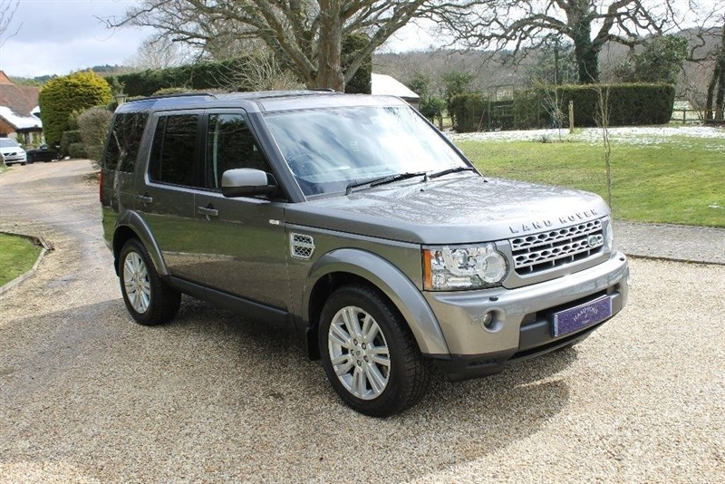 used Land Rover Discovery 4 TDV6 HSE in surrey