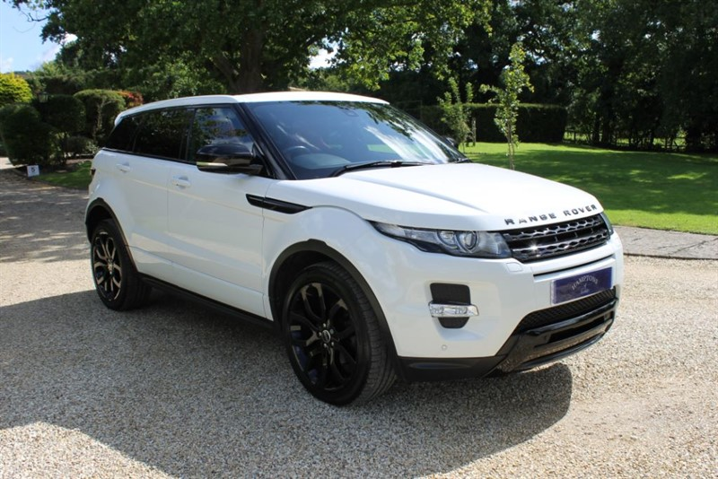 used Land Rover Range Rover Evoque SD4 DYNAMIC in surrey