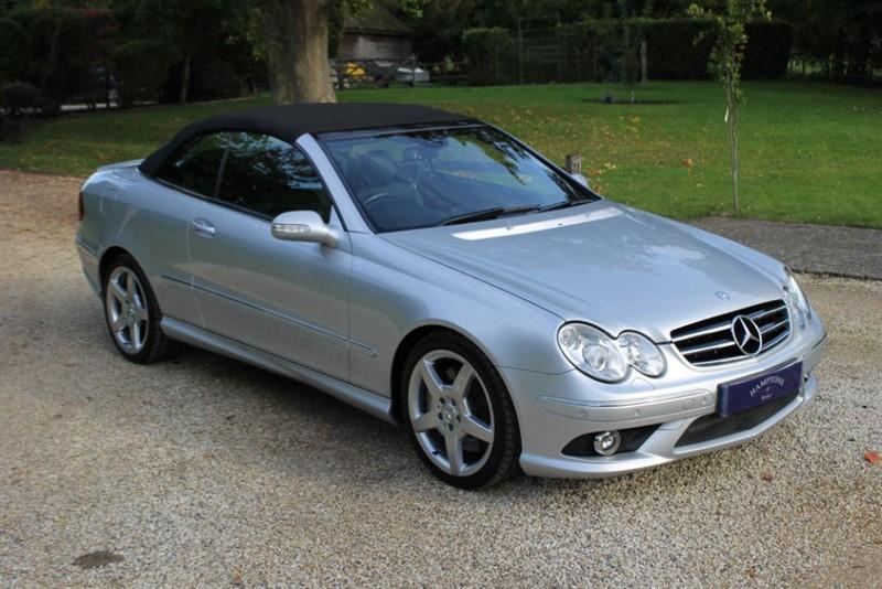 used Mercedes 350 CLK CLK350 SPORT in surrey