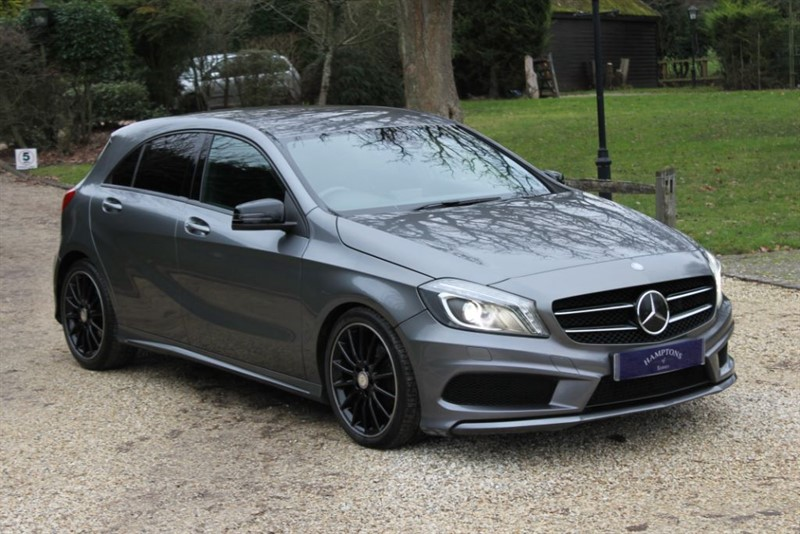 used Mercedes A200 BLUEEFFICIENCY AMG SPORT in surrey