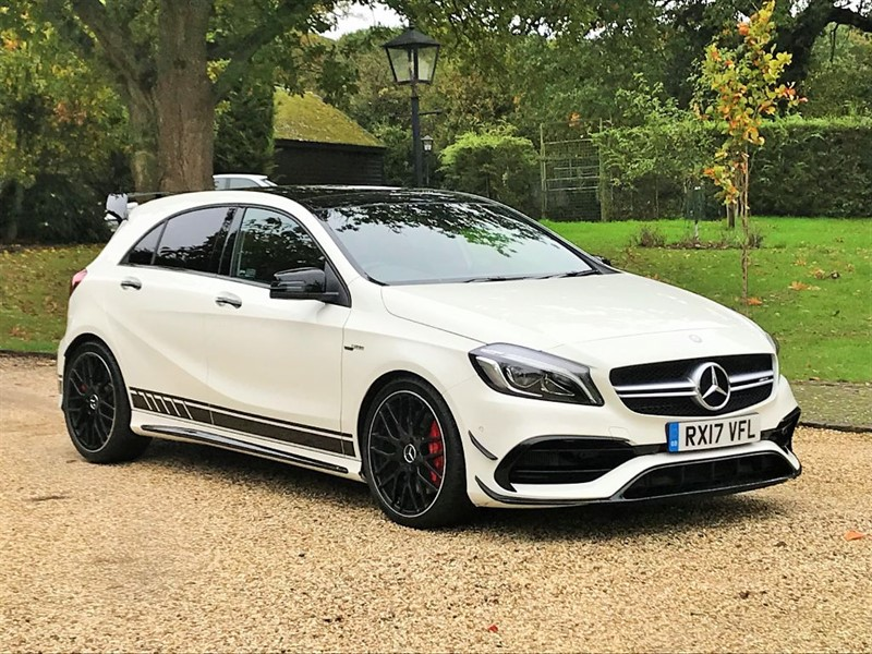used Mercedes A45 AMG 4MATIC in surrey