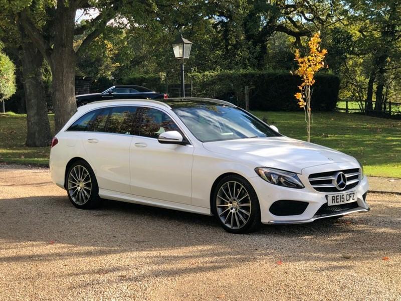 used Mercedes C300 H AMG LINE PREMIUM PLUS in surrey