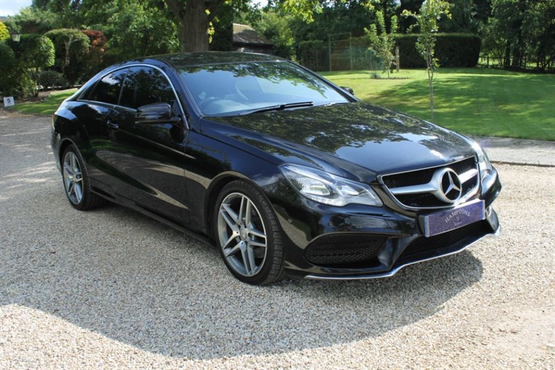 used Mercedes E250 CDI AMG LINE in surrey