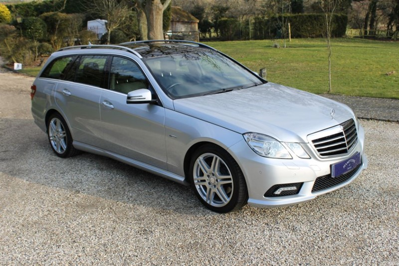 used Mercedes E250 CDI BLUEEFFICIENCY SPORT in surrey