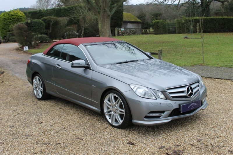 used Mercedes E350 CDI BLUEEFFICIENCY SPORT in surrey