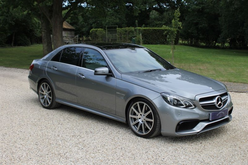 used Mercedes E63 AMG  in surrey