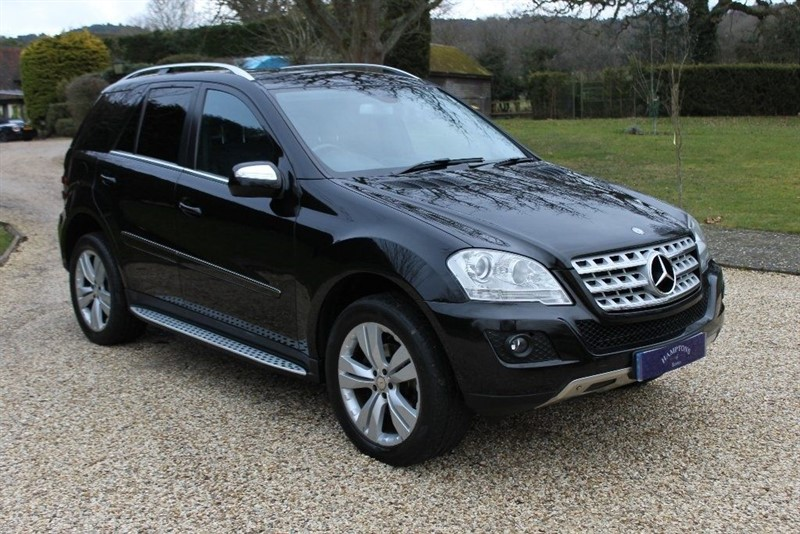 used Mercedes ML280 CDI SPORT in surrey