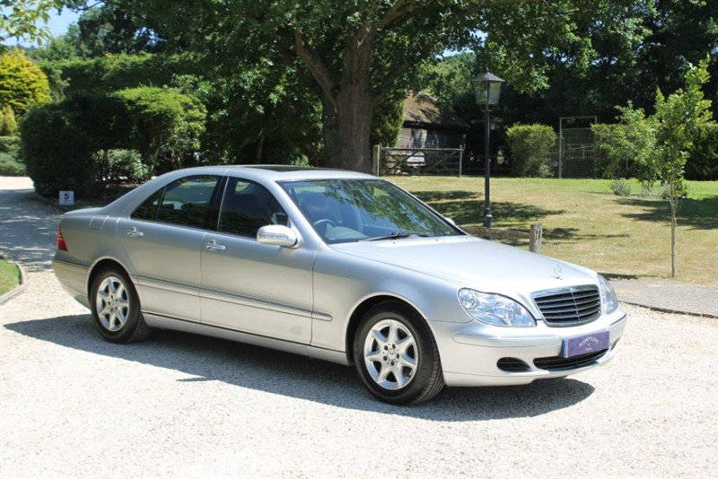 used Mercedes S320 CDI in surrey