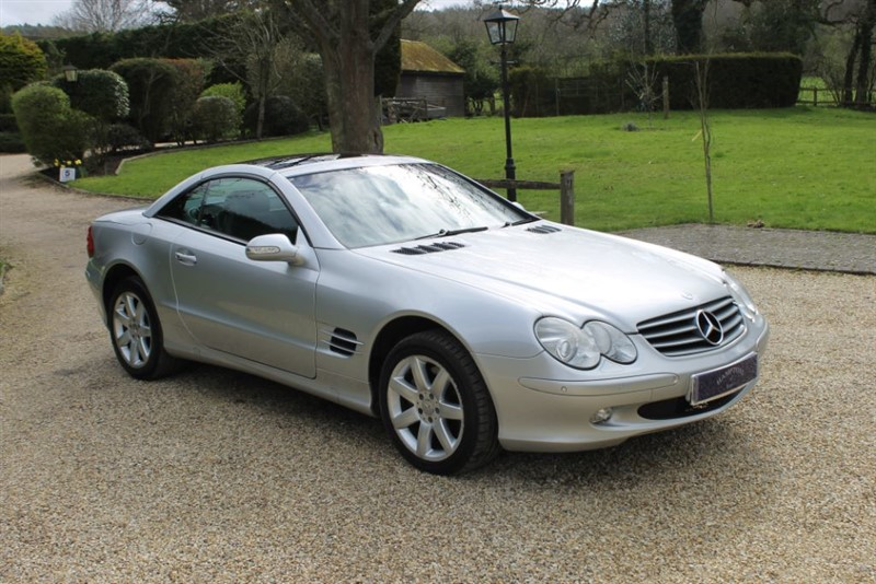 used Mercedes SL SL500 in surrey