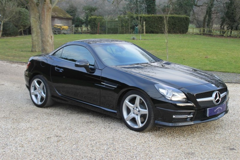 used Mercedes SLK SLK200 BLUEEFFICIENCY AMG SPORT in surrey