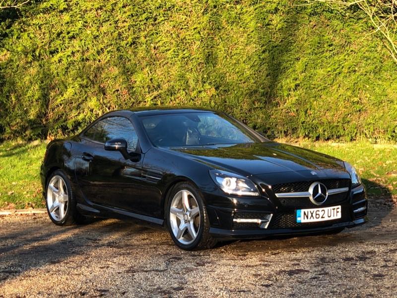 used Mercedes SLK200 SLK200 BLUEEFFICIENCY AMG SPORT in surrey