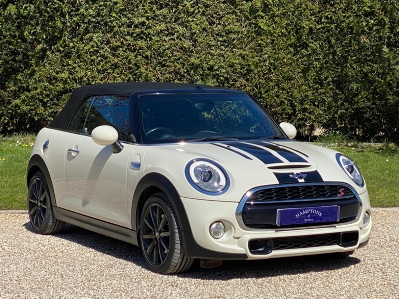 used MINI Convertible COOPER S in surrey