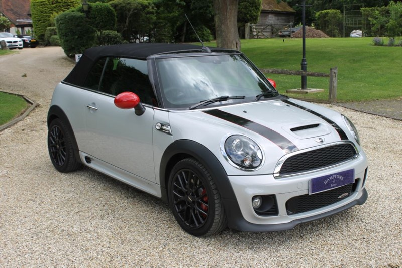 used MINI Convertible JOHN COOPER WORKS in surrey