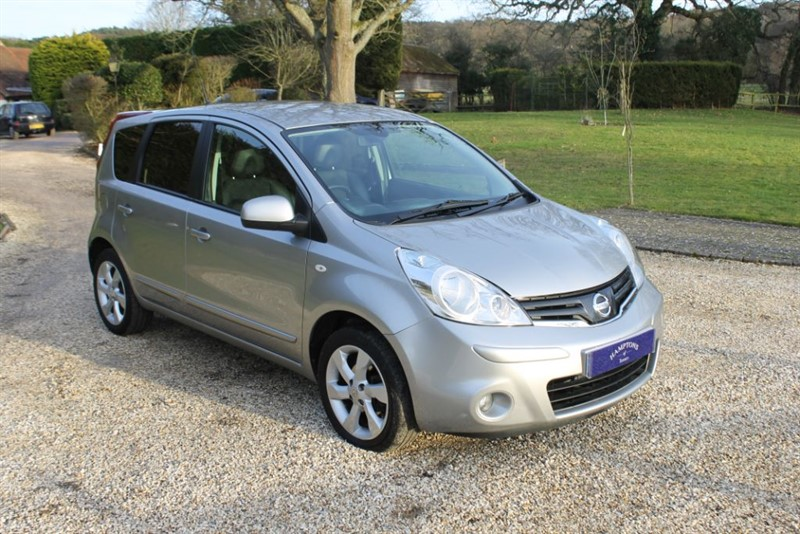 used Nissan Note TEKNA in surrey