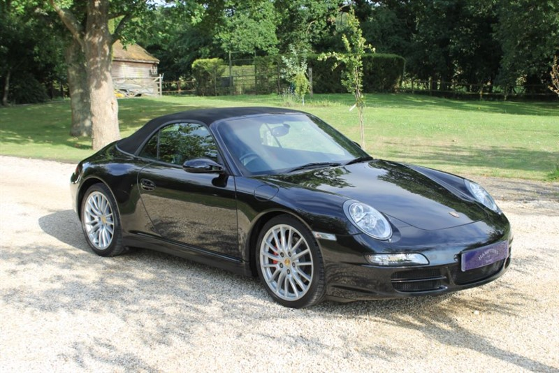 used Porsche 911 CARRERA 4 TIPTRONIC S in surrey