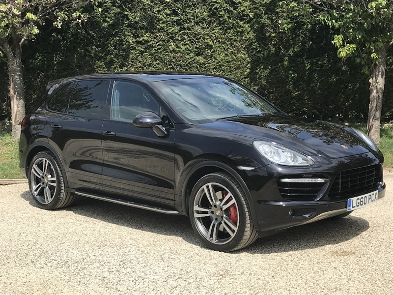 used Porsche Cayenne V8 TURBO TIPTRONIC S in surrey