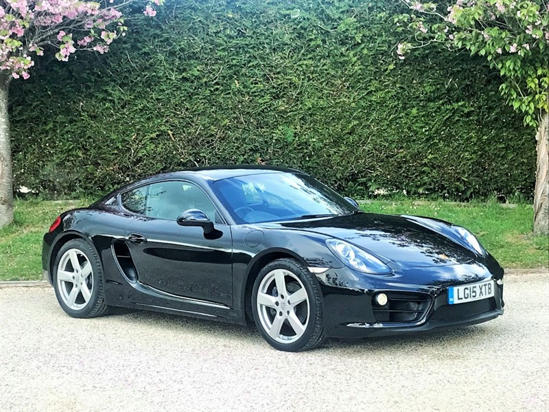 used Porsche Cayman 24V PDK in surrey