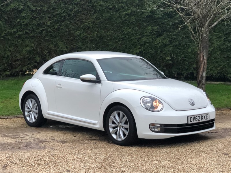 used VW Beetle DESIGN TSI DSG in surrey