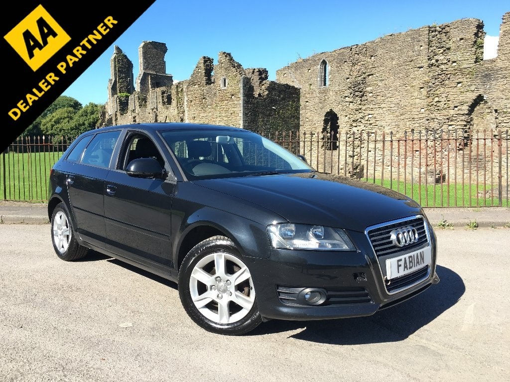used Audi A3 TDI SE Sportback 5dr Manual (109 g/km, 104 bhp) in swansea-south-wales