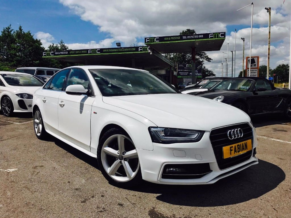 used white audi a4 for sale swansea. Black Bedroom Furniture Sets. Home Design Ideas