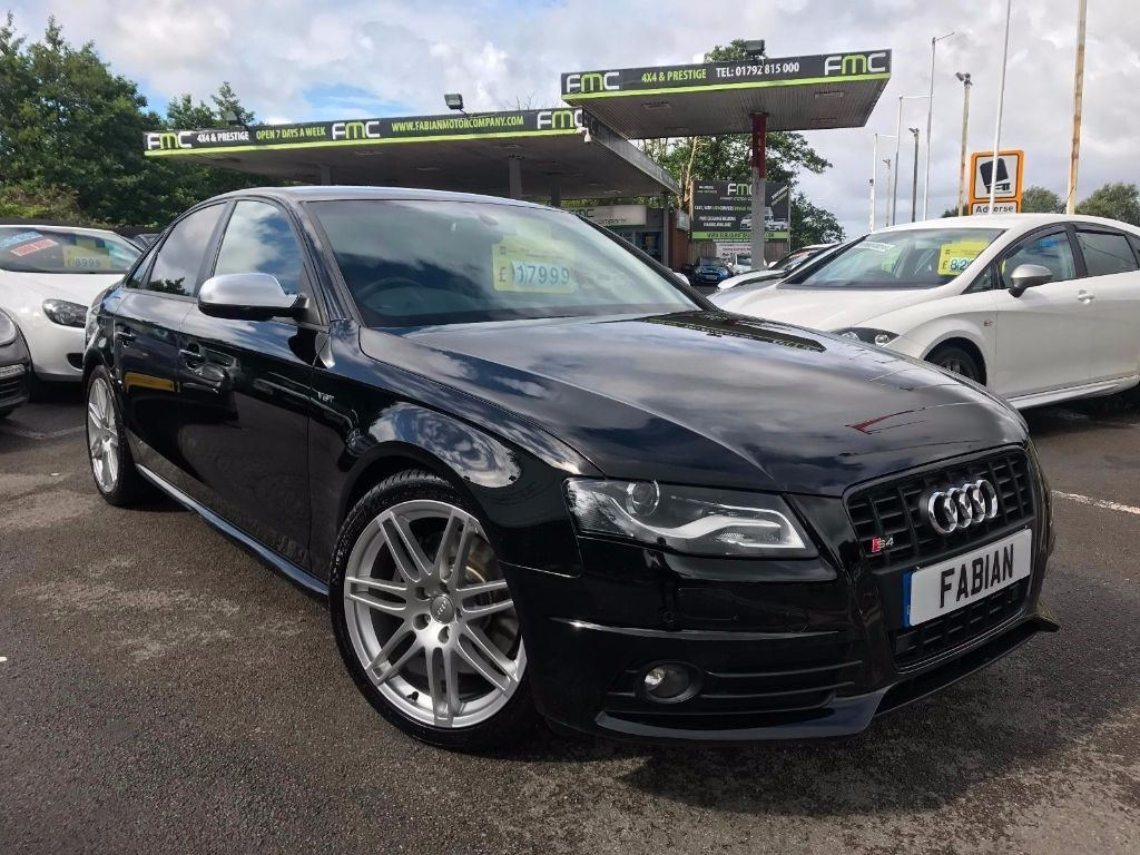 used Audi S4 S4 QUATTRO in swansea-south-wales