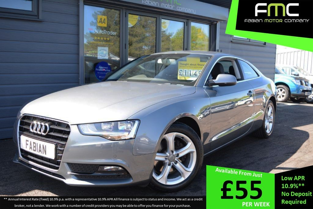 used Audi A5 TDI SE in swansea-south-wales