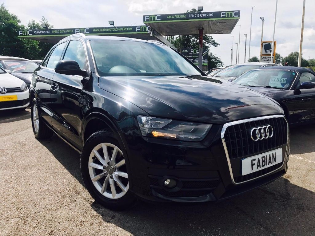 used Audi Q3 TDI SE in swansea-south-wales