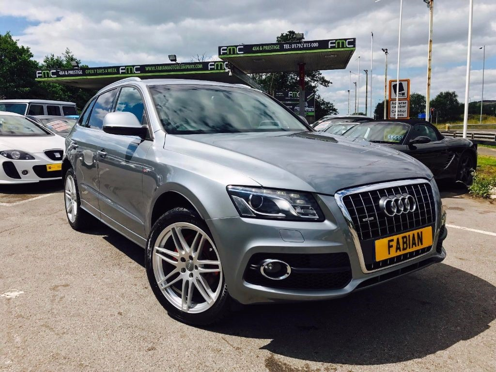 used Audi Q5 TDI QUATTRO DPF S LINE in swansea-south-wales