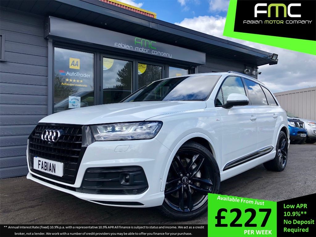 used Audi Q7 S-Line in swansea-south-wales