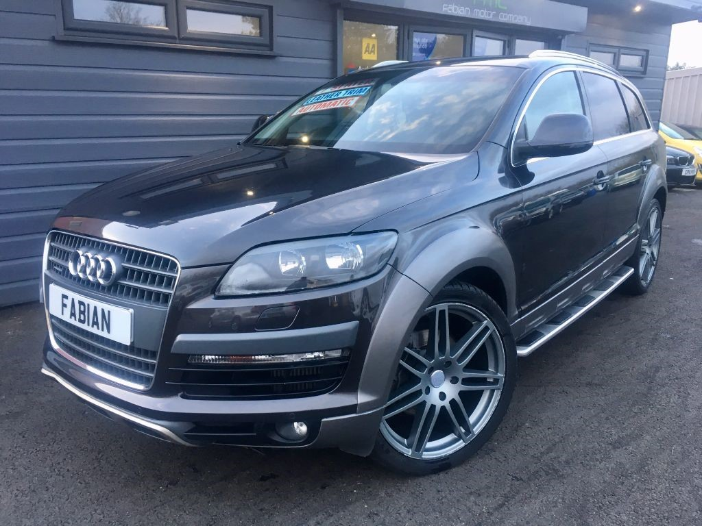 used Audi Q7 TDI QUATTRO LIMITED EDITION in swansea-south-wales