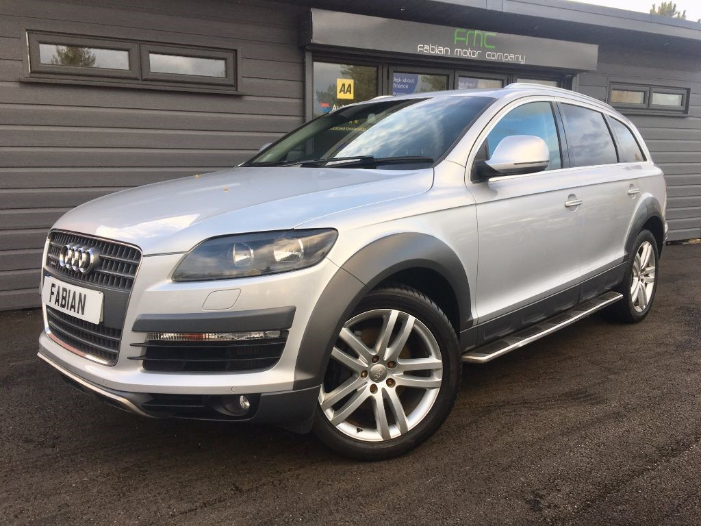 used Audi Q7 TDI Limited Edition SUV 5dr Tiptronic Quattro (279 g/km 229 bhp) in swansea-south-wales