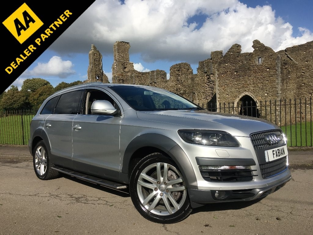 used Audi Q7 TDI Limited Edition SUV 5dr Tiptronic Quattro (279 g/km, 229 bhp) in swansea-south-wales