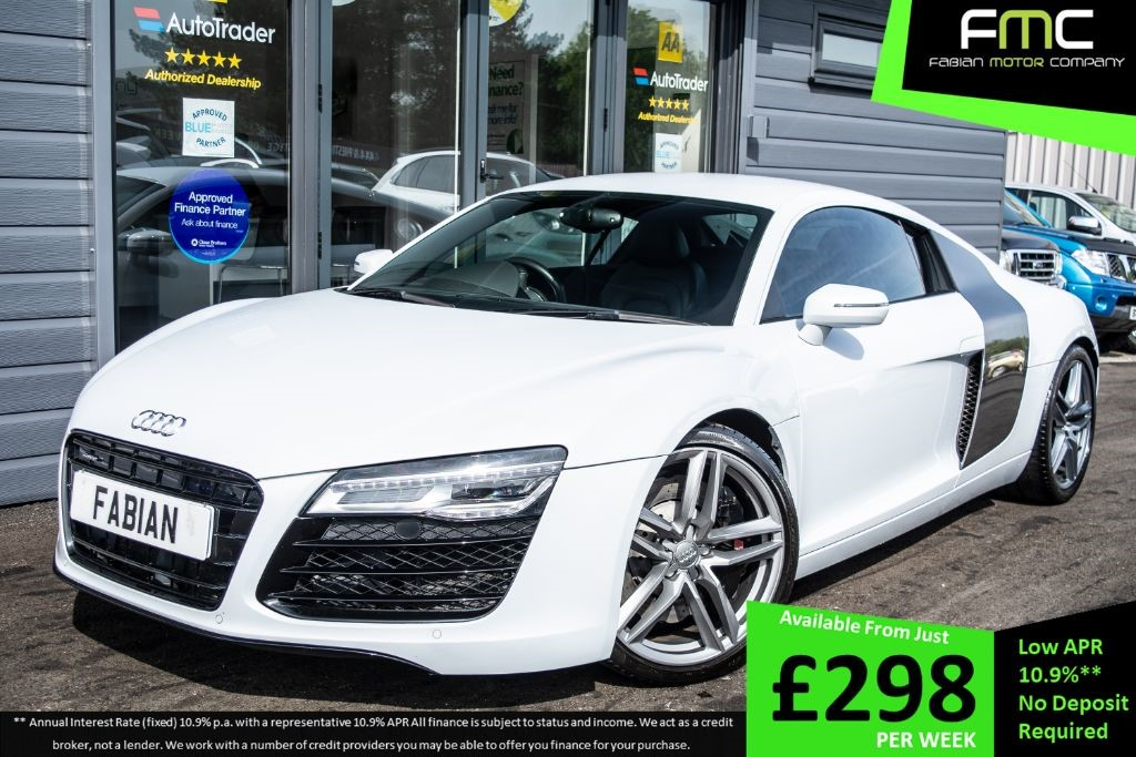 used Audi R8 V8 QUATTRO in swansea-south-wales