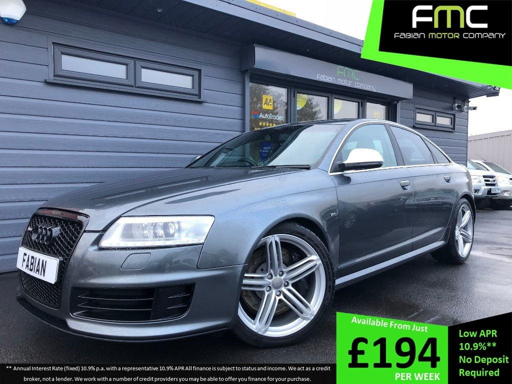 used Audi RS6 RS6 QUATTRO in swansea-south-wales