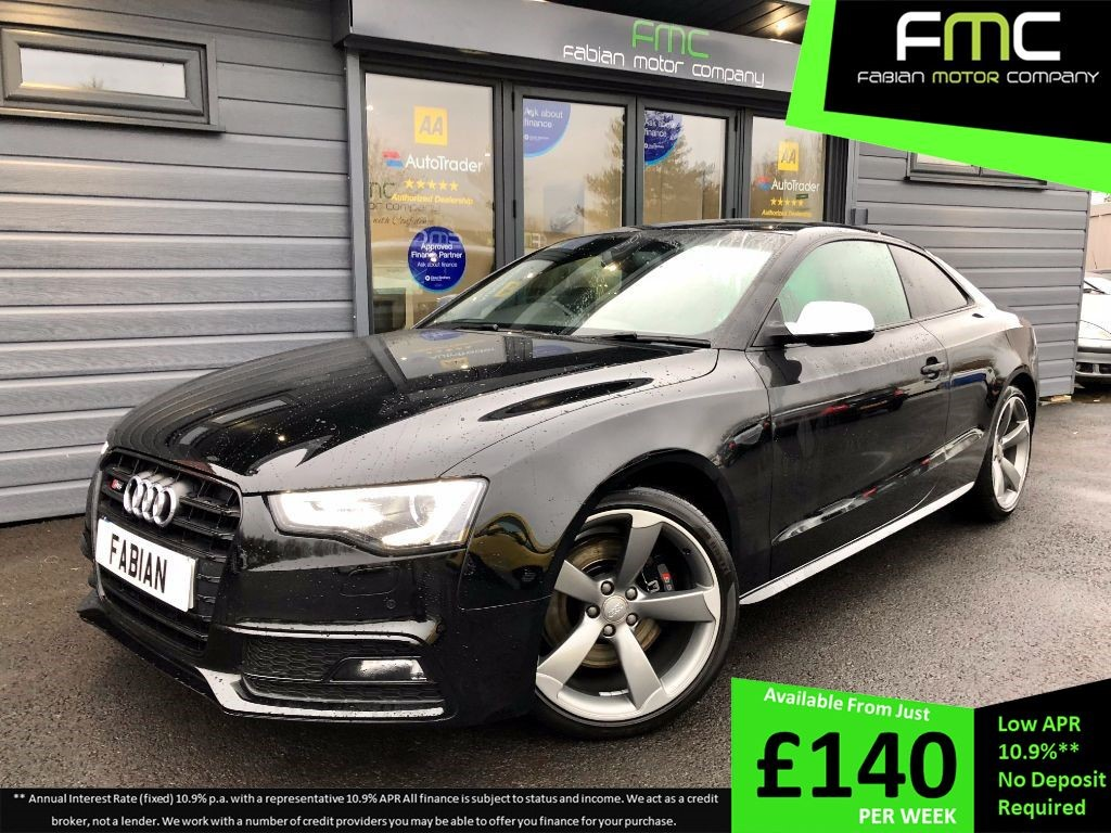 used Audi S5 S5 TFSI QUATTRO S LINE BLACK EDITION in swansea-south-wales