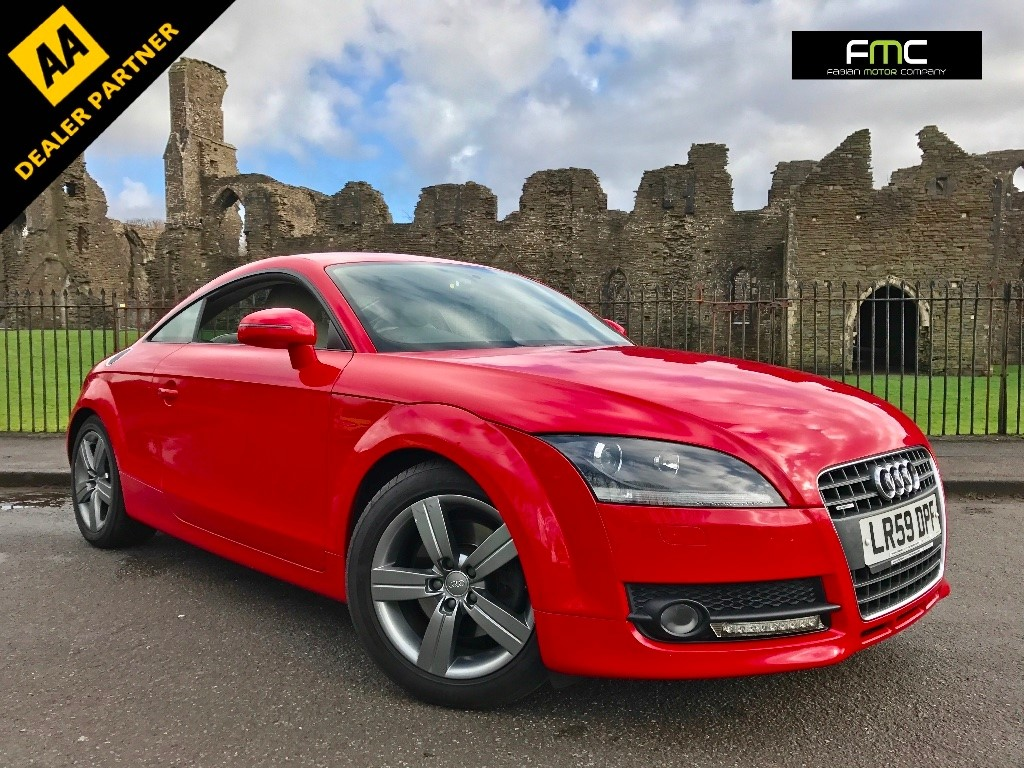 used Audi TT TDI Coupe 3dr Manual Quattro (139 g/km, 168 bhp) in swansea-south-wales