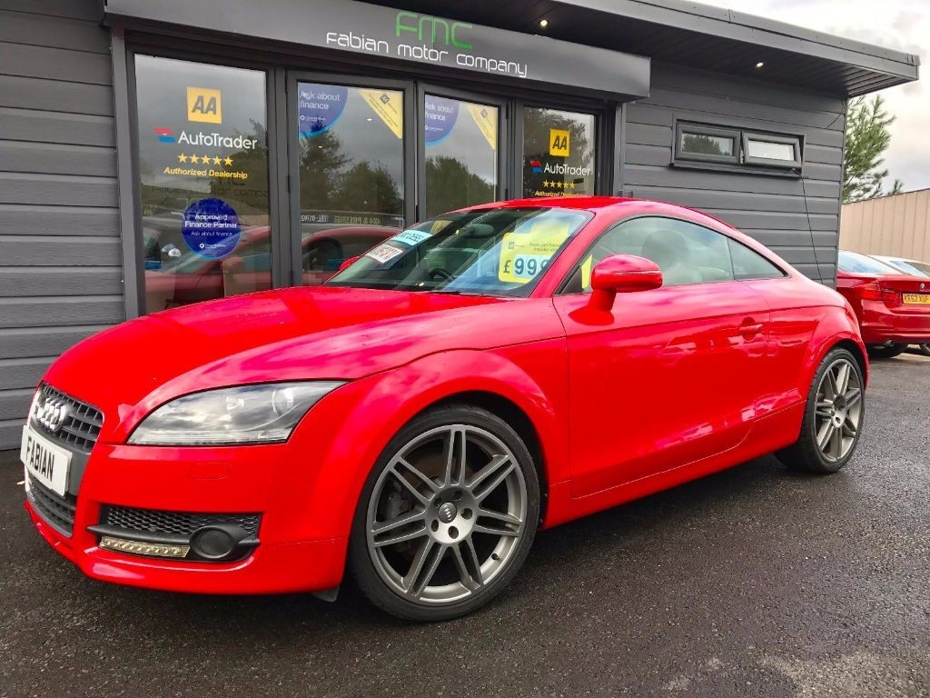 used Audi TT TDI Coupe 3dr Manual Quattro (139 g/km 168 bhp) in swansea-south-wales