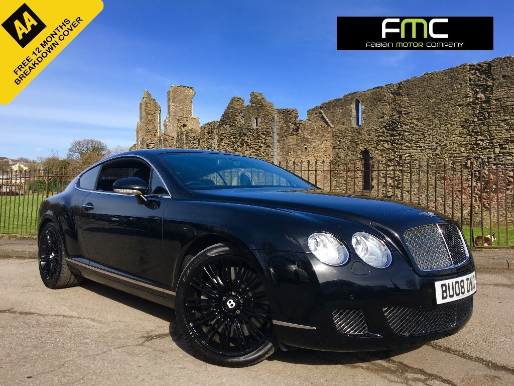 used Bentley Continental GT Speed W12 GT 2dr in swansea-south-wales