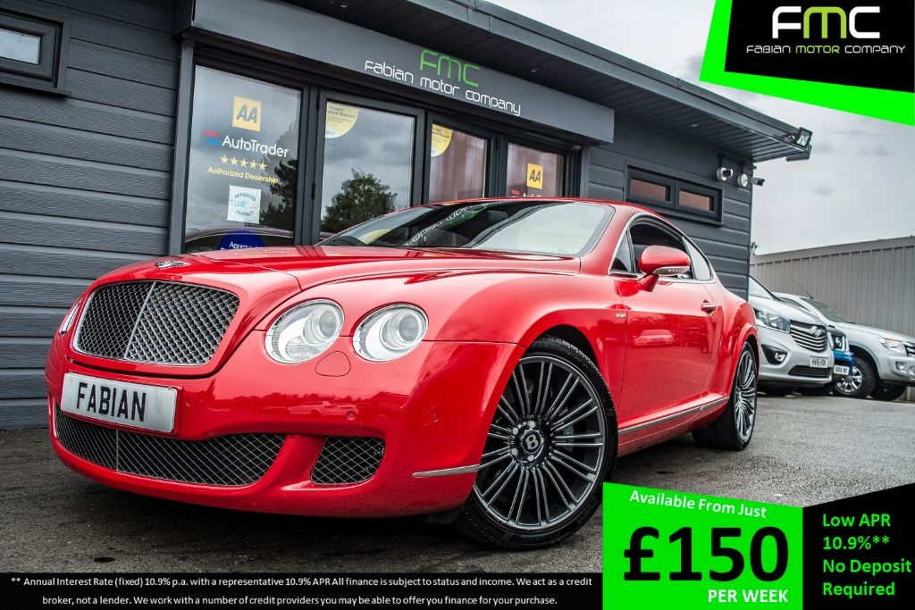 used Bentley Continental GT SPEED in swansea-south-wales