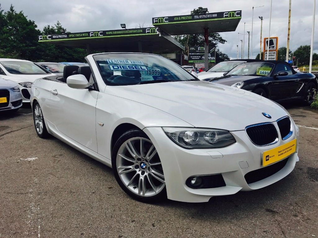 used BMW 320d M SPORT in swansea-south-wales