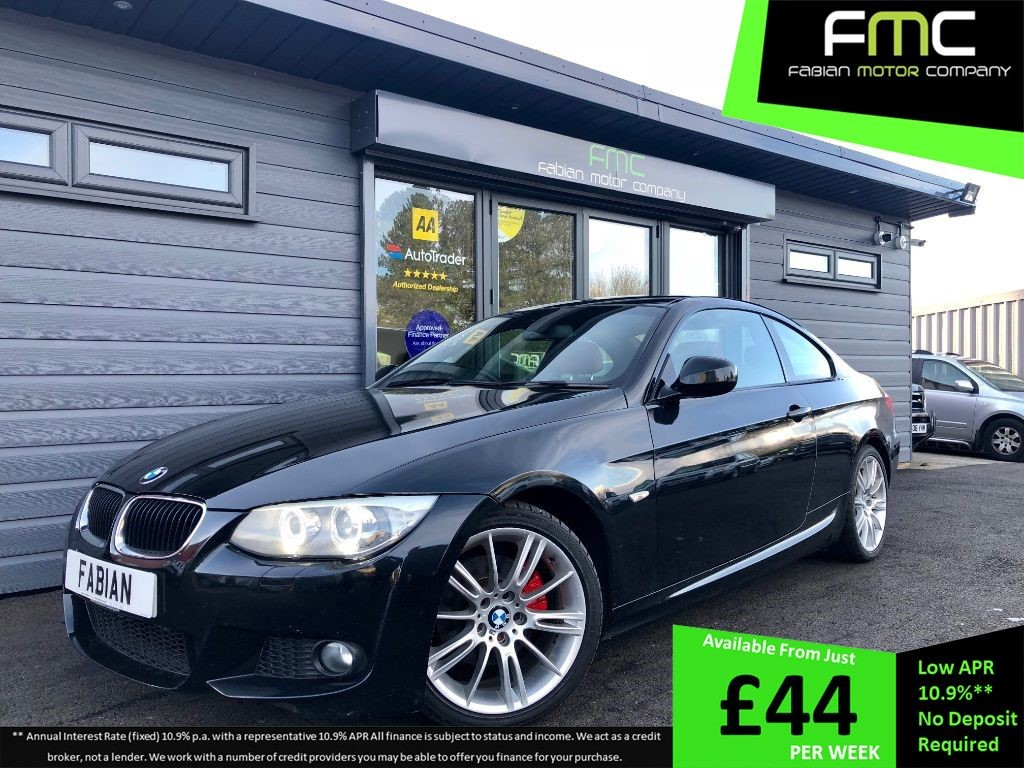 used BMW 320d 3 Series M Sport Coupe in swansea-south-wales