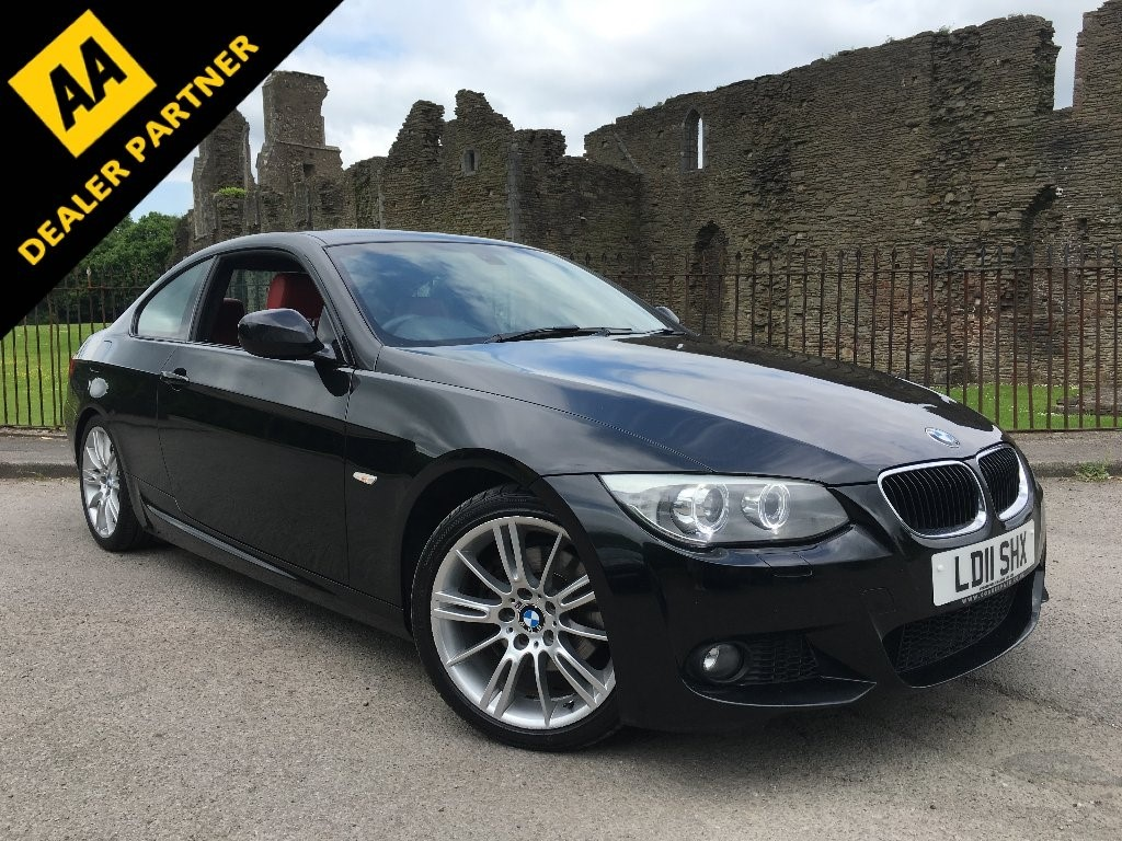 used BMW 320d 3 Series M Sport Coupe 2dr Manual (125 g/km, 184 bhp) in swansea-south-wales