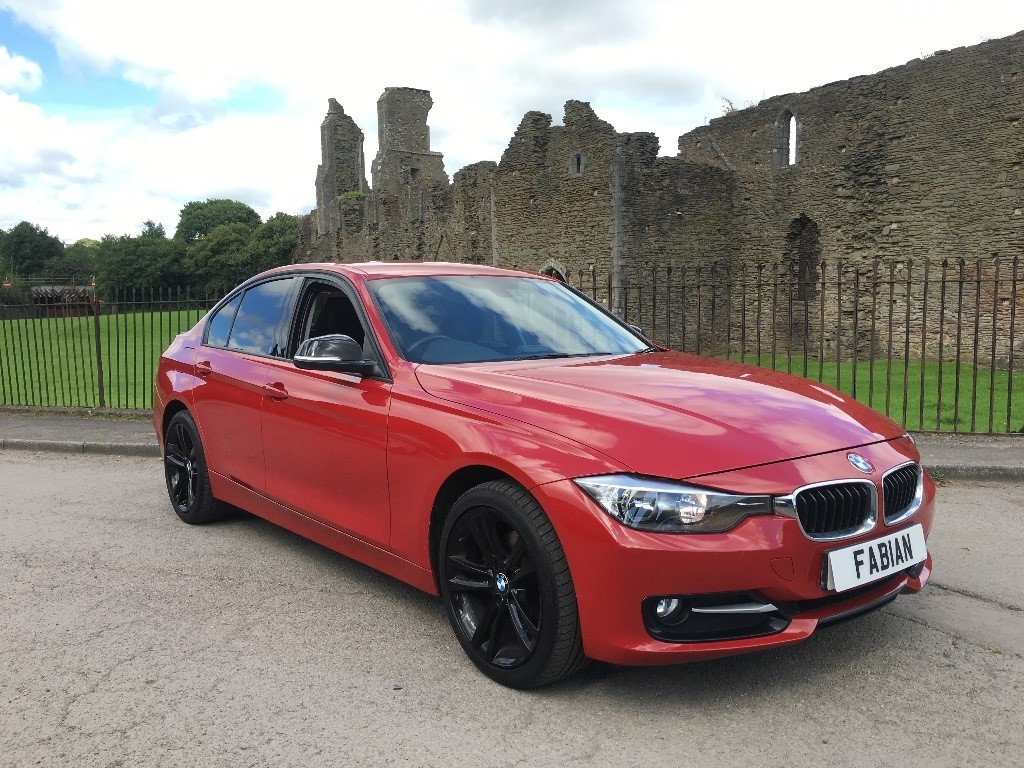 used BMW 320d 3 Series EfficientDynamics 4dr (start/stop) in swansea-south-wales