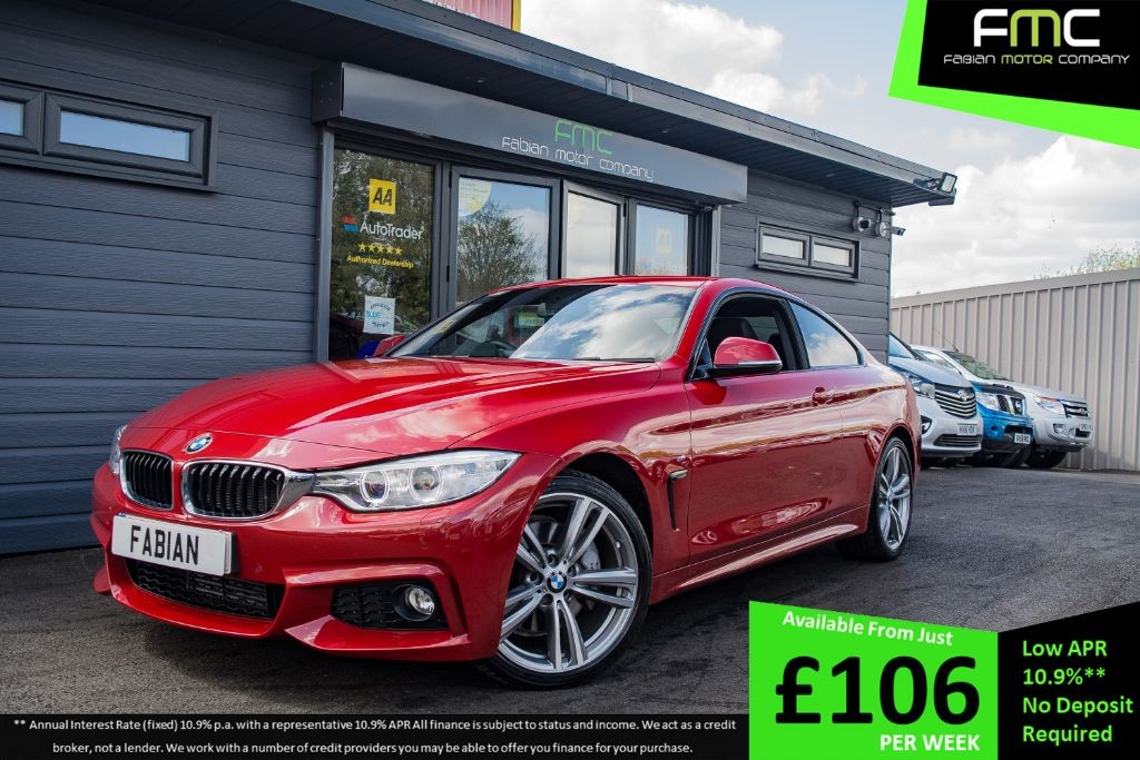 used BMW 435i M SPORT in swansea-south-wales