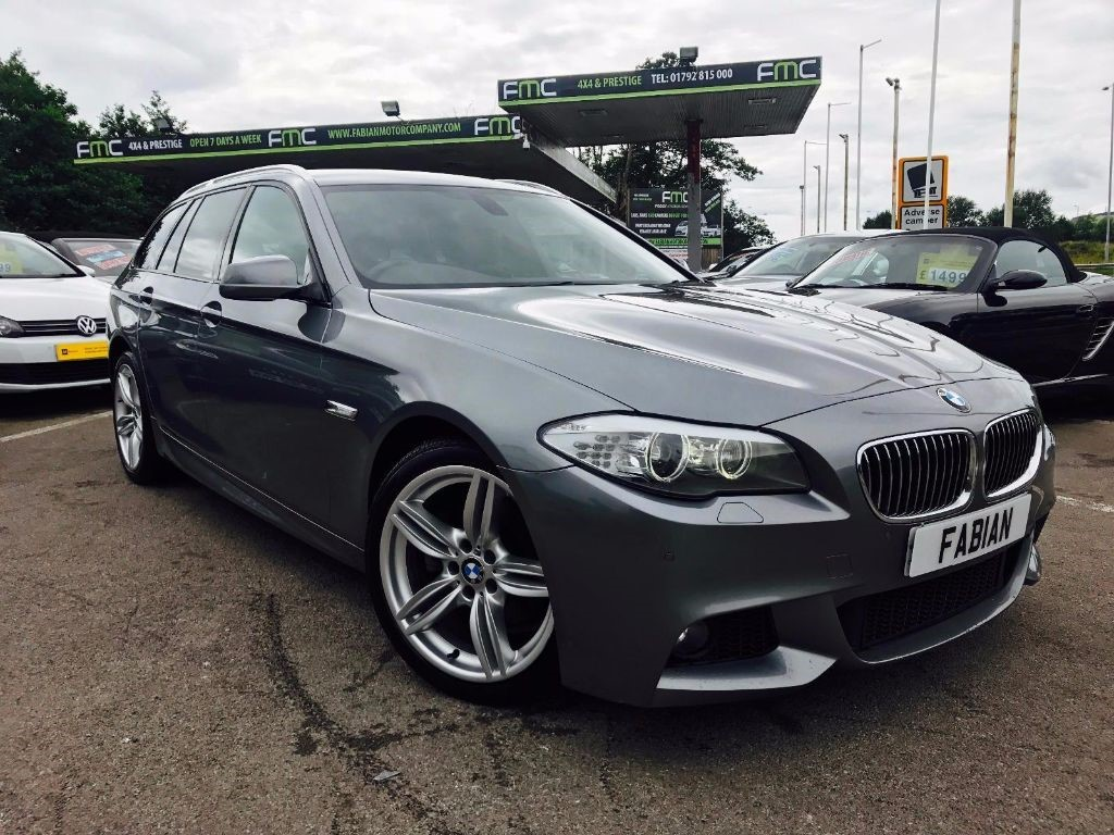 used BMW 520d M SPORT TOURING in swansea-south-wales