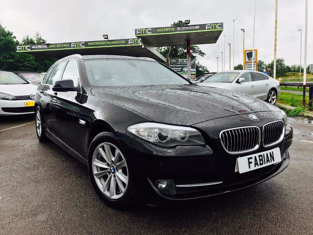used BMW 520d SE TOURING in swansea-south-wales
