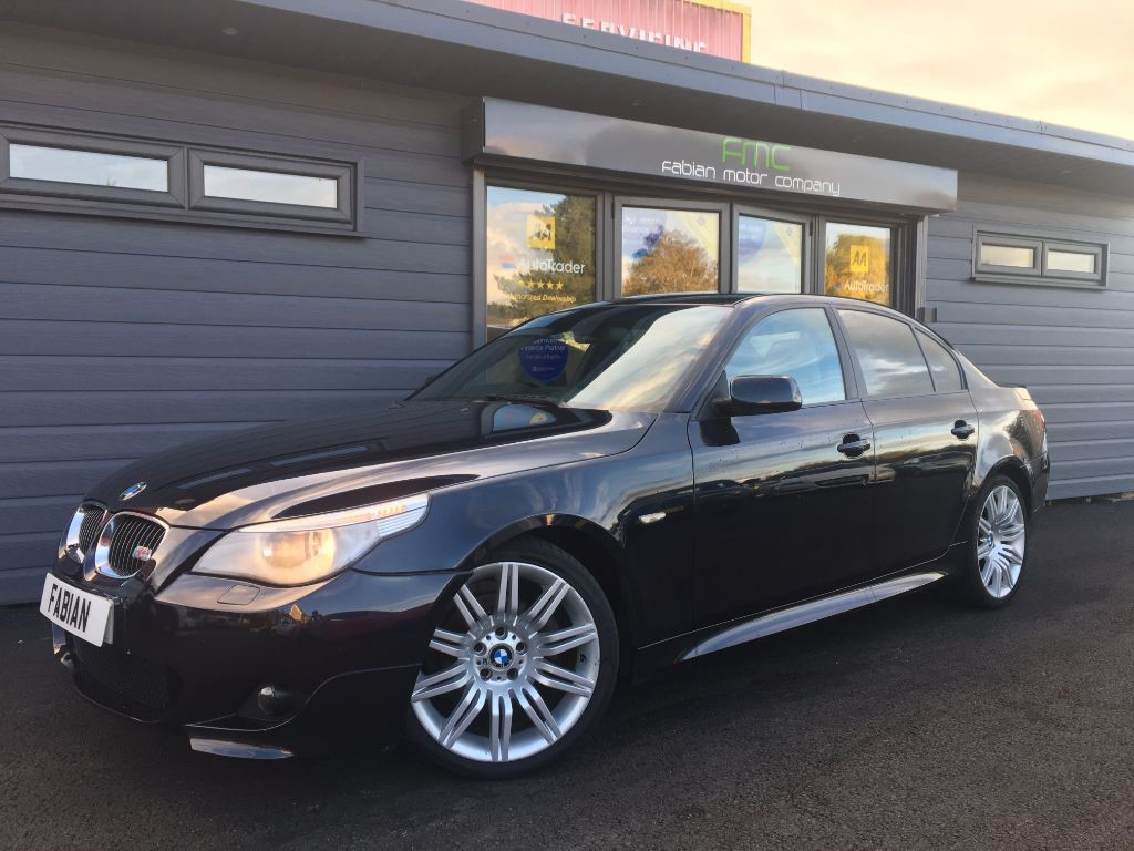 used BMW 525d M SPORT in swansea-south-wales
