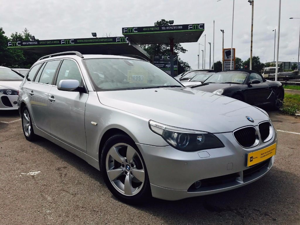 used BMW 530d Touring SE in swansea-south-wales